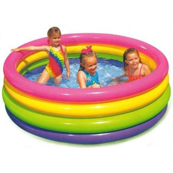 Buy Online Intex Sunset Glow Pool 57412 Item No 0025921 In Pakistan Zubaidas Online Where To Shop Karachi Zuba Kiddie Pool Pool Children Swimming Pool