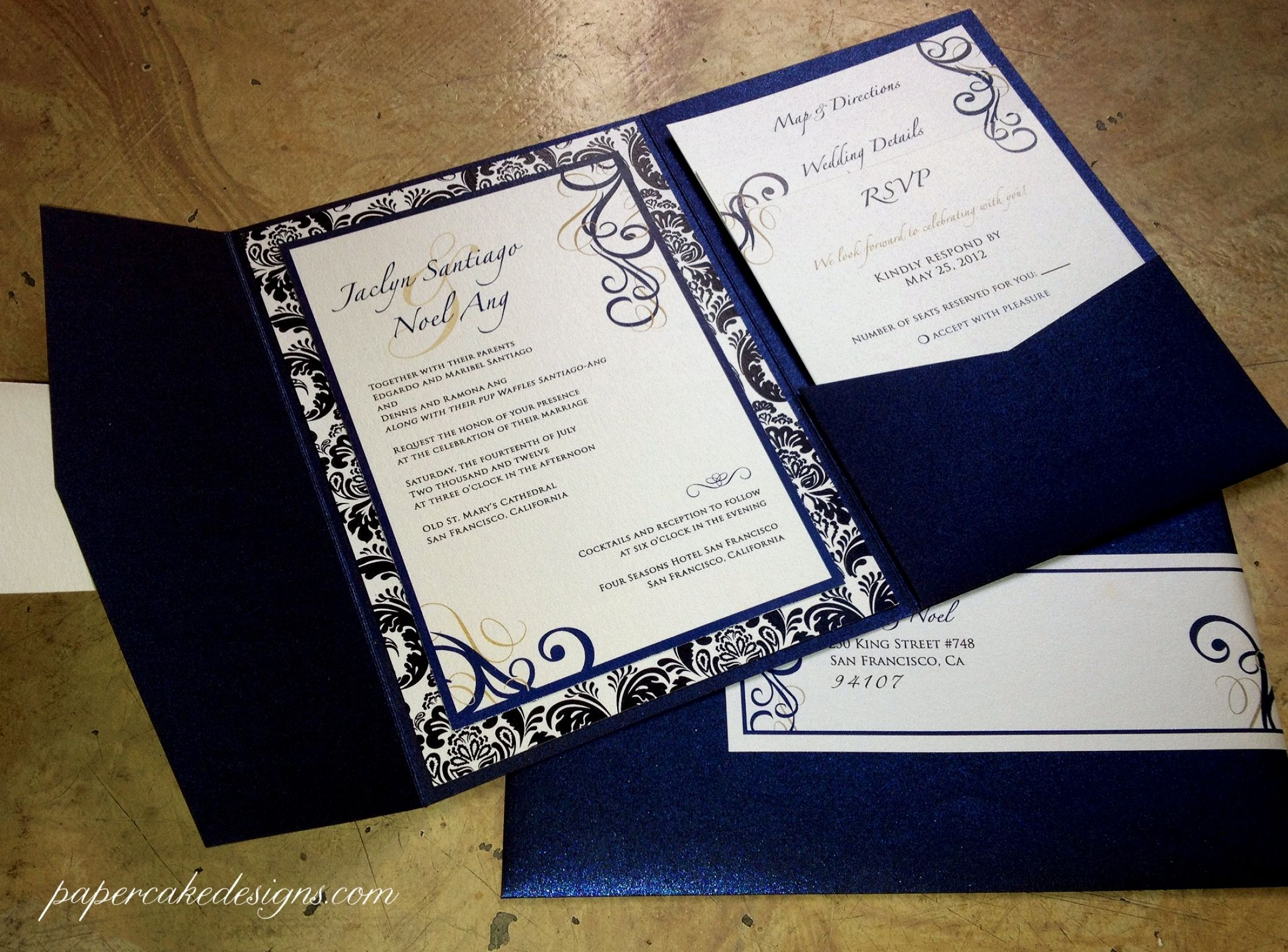 Best 30 Invitation Wedding Unique Design Custom Wedding