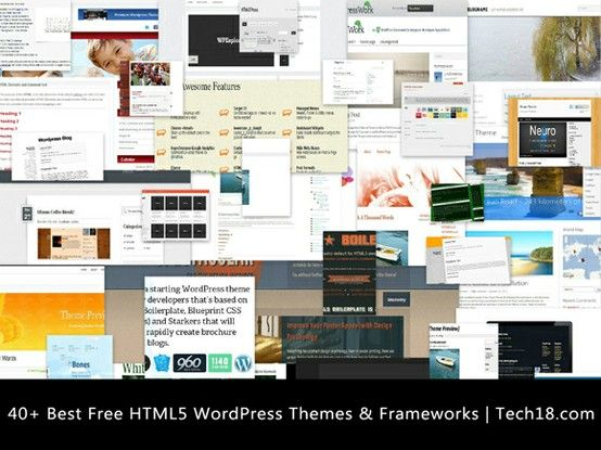See this 40 Best Free HTML5 WordPress Themes | Worth Reading ...