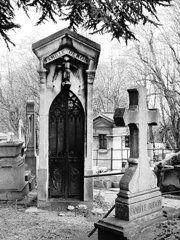 Pere-Lachais Cemetery Paris, France