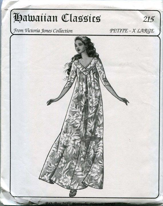 Victoria Jones Collection Hawaiian Classics Sewing Pattern 215 ...