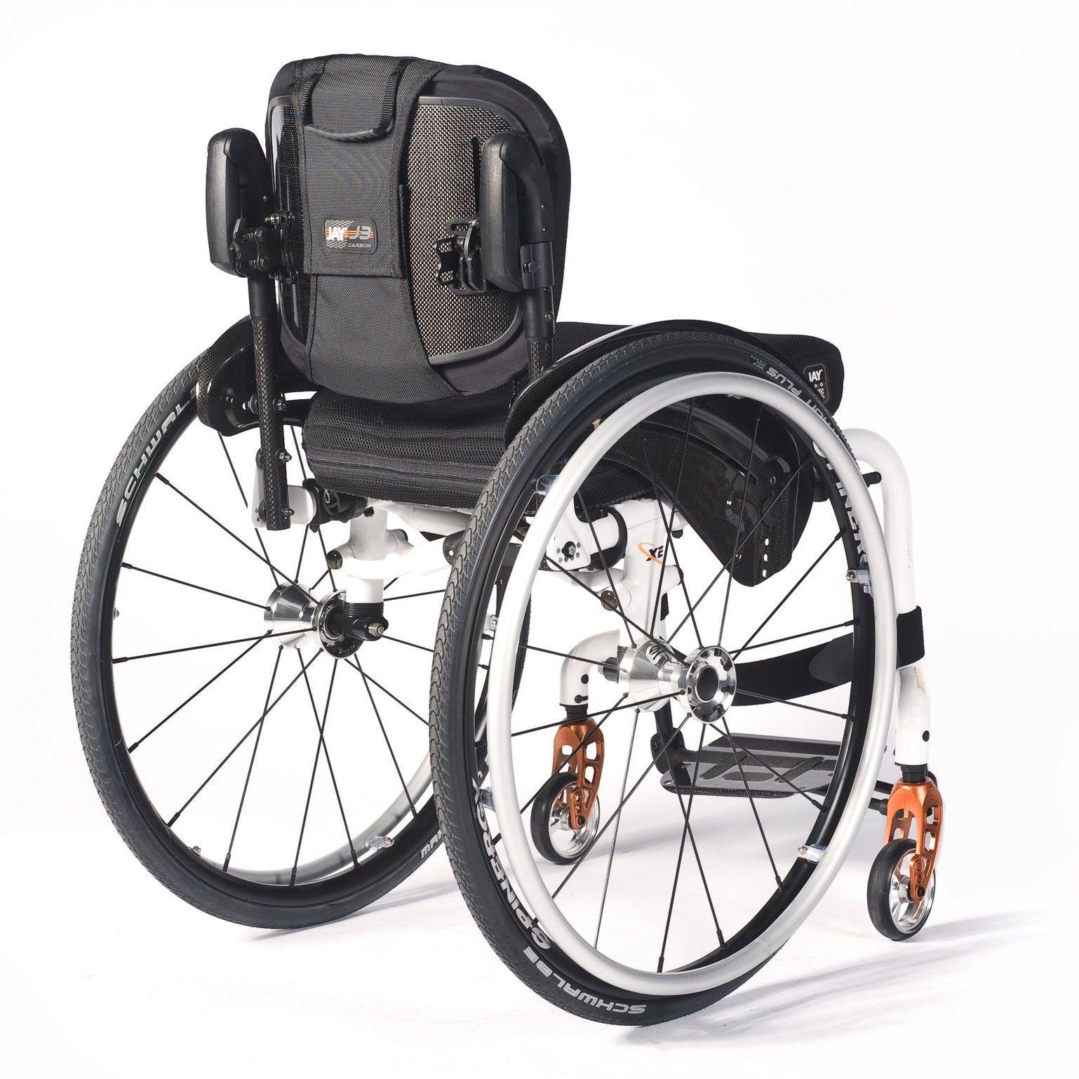 JAY J3 Carbon Wheelchair Back Sunrise Medical
