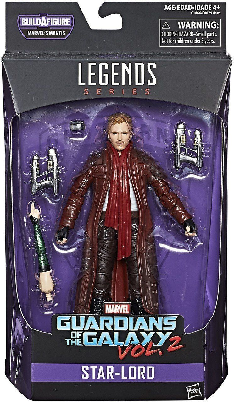Hasbro Marvel Guardians of The Galaxy 6-inch Legends Series Star-Lord