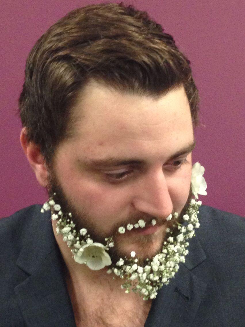 Flowered beard