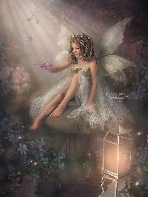 Fairy Portrait By Chasing Whimsy With Images Fairy Artwork