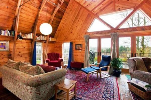How to decorate  chalet barn house interior design build barns home decorating also rh pinterest