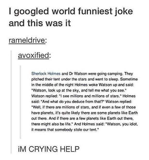 Worlds funniest joke - Imgur Sherlock Holmes Pinterest Funny - joke divorce papers