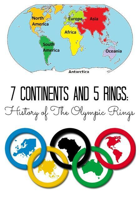 The Story Of The Olympic Rings With Free Printable Preschool Olympics Olympics Activities Kids Olympics