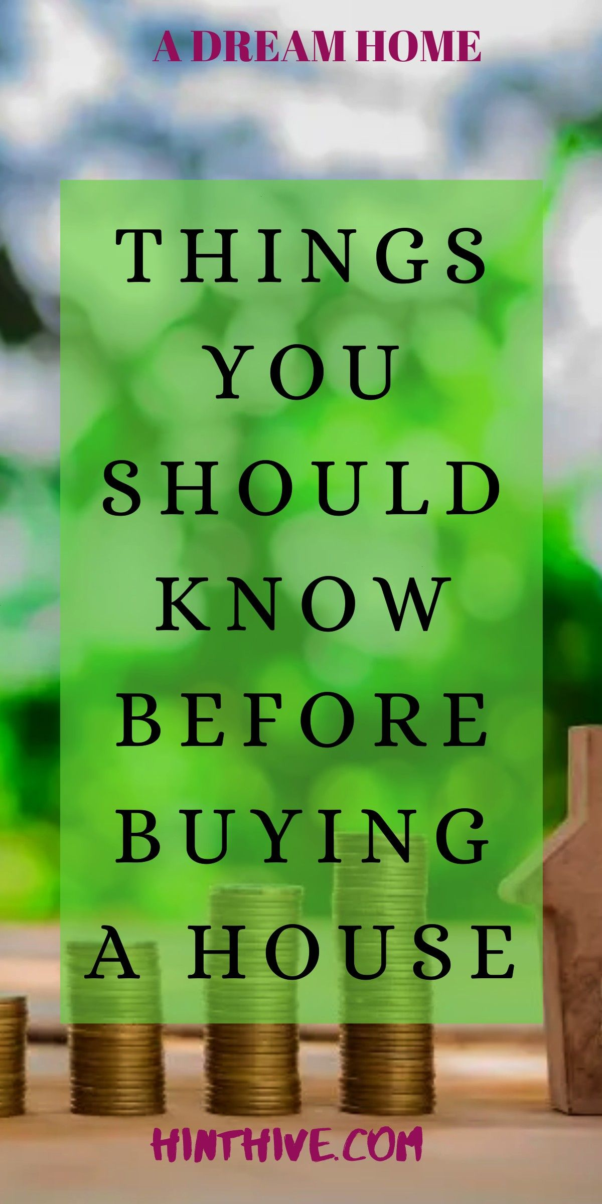 you should know before buying a house One of the goals that many people want to accomplish is to have their own home so much so that there are those who think that rentin...