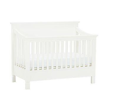 Larkin Fixed Gate 4 In 1 Crib Cribs Convertible Crib Pottery Barn Crib