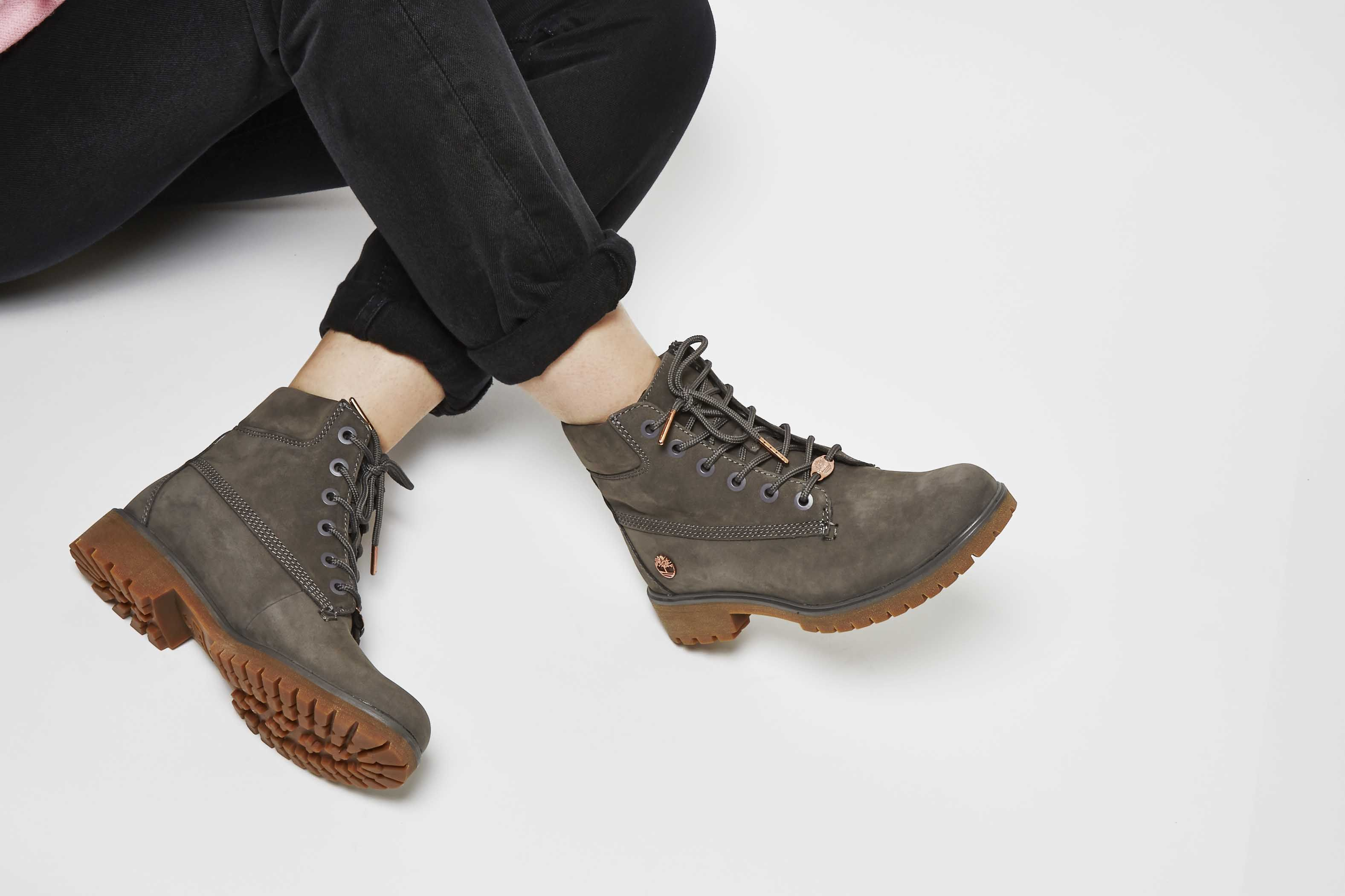 d8a92239ca6b Timberland Slim Premium 6 Inch Boots Eiffel Tower Grey Nubuck £130.00