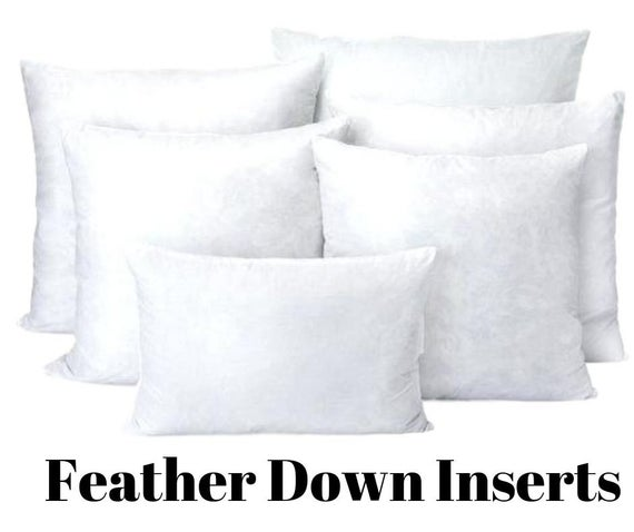 Down pillow inserts | Etsy