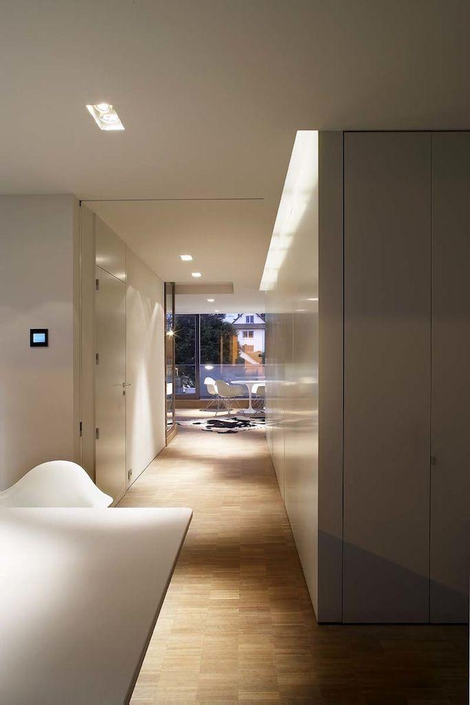 Residentie Impala - RRR - Rietveld projects oostduinkerke - kuche wohnzimmer offen modern