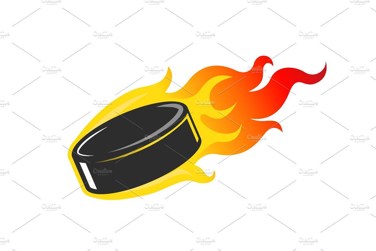 Burning Hockey Puck Hockey Puck Hockey Pucks Crafts Hockey