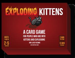 Exploding Kittens A Card Game Exploding Kittens Card Games