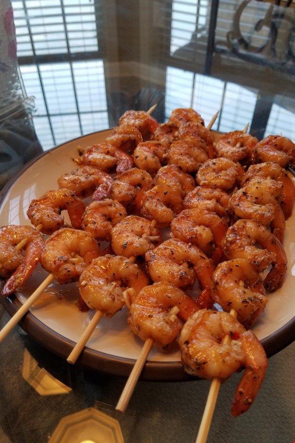 Grilled Garlic and Herb Shrimp Recipe