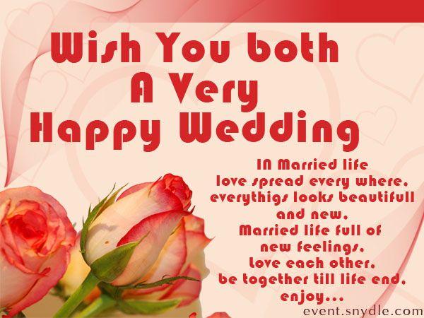Wedding Wishes Cards Wedding Pinterest Best Wedding card