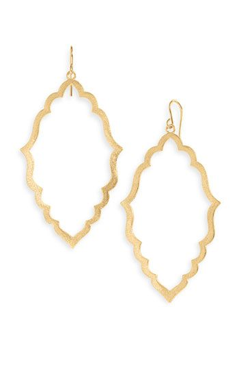 Dogeared Moroccan Hoop Earrings A Nice Alternative To The Gold