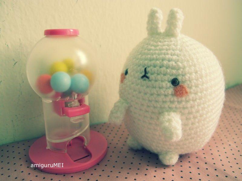 molang amigurumi amigurumei korea rabbit #amigurumi #crochet | San-x ...