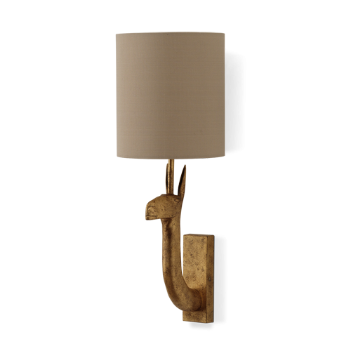 Porta romana b twl45 llama wall light decayed gold