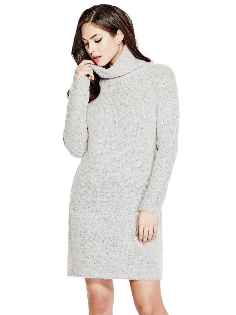 536d0eb262 GUESS Women s Carey Sweater Dress