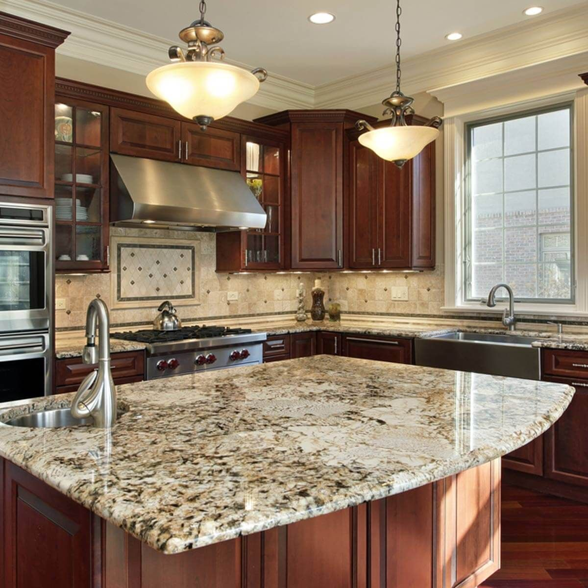 20 Out Of Style Items For Your Home Granite Kitchen Countertops Luxury Kitchen Design Luxury Kitchens Kitchen Renovation