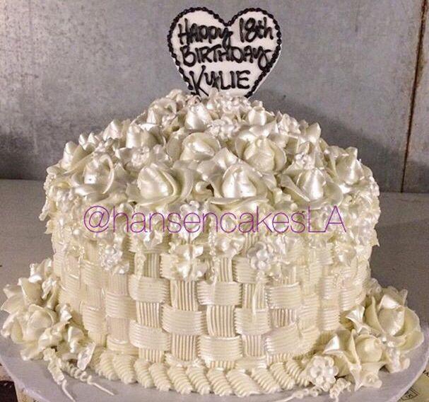 Kylie Birthday Cake Cakes Amp Cupcakes 18th Birthday Cake