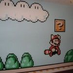 Mario mural pixel