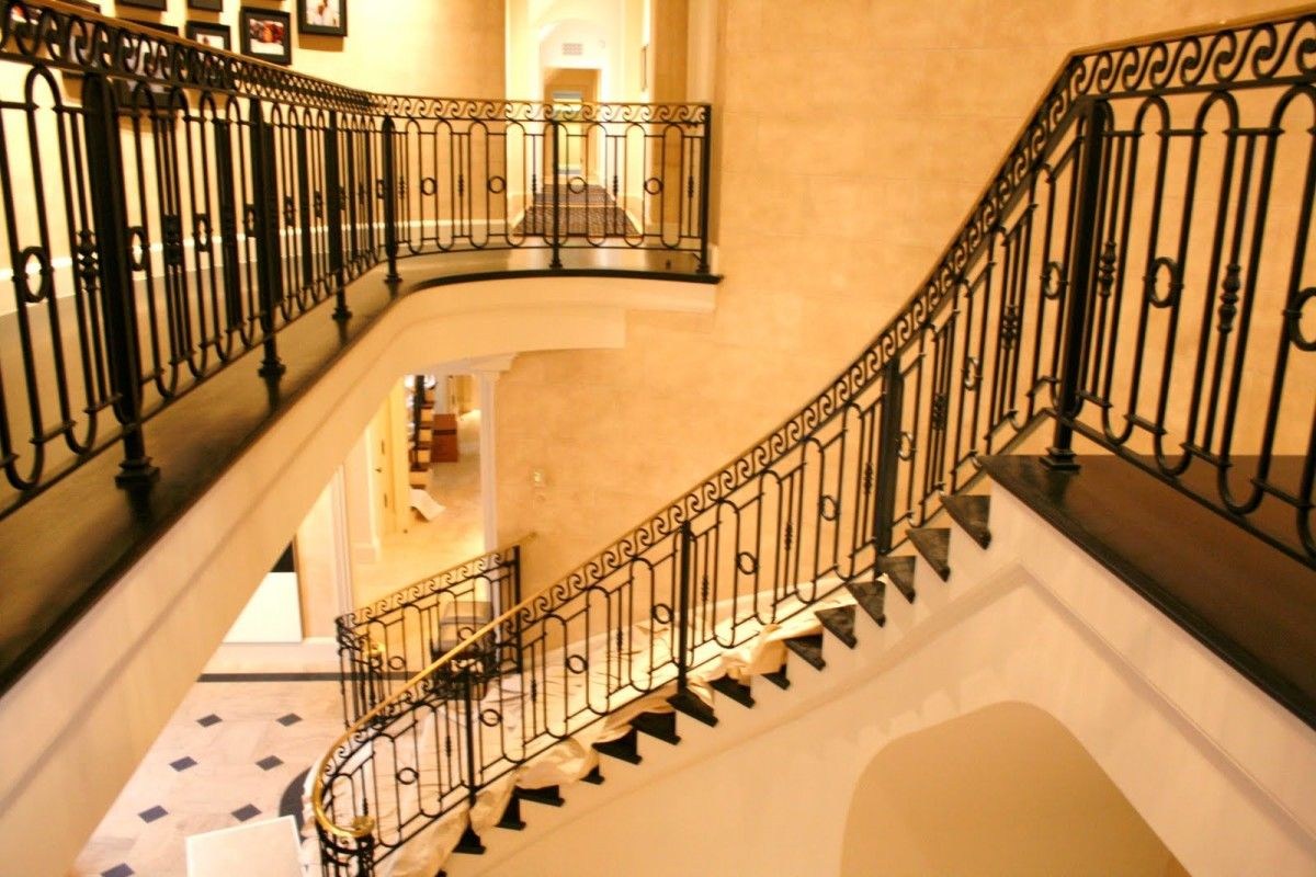 Home interior railings beautiful wrought iron staircases  google search  little chateau