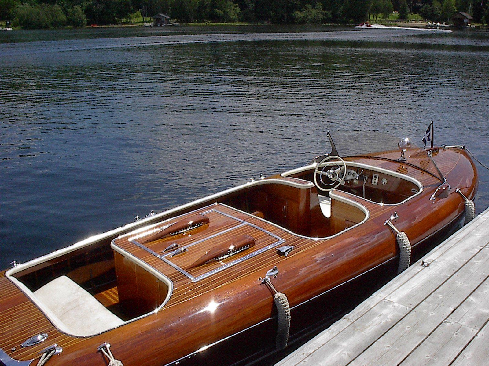 Elegance Woodenboat Classic Wooden Boats Mahogany Boat Wooden