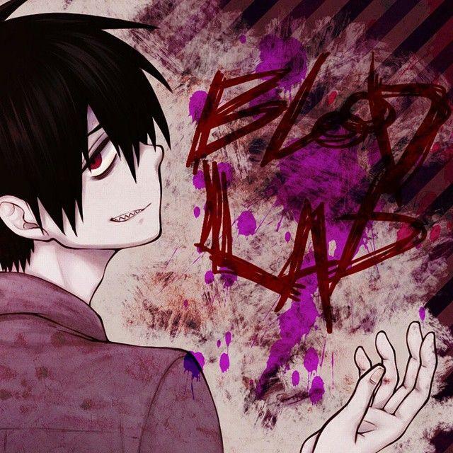 Картинки приколы аниме кровавый парень, трафареты для