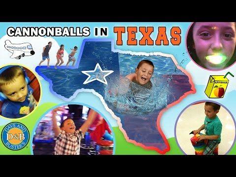 Cannonballs In Texas Sky Kids Go To Mega Arcade Funnel Vision Family Tx Trip Part 1 Vlog Youtube Funnel Vision Power Rangers Art Little Ones