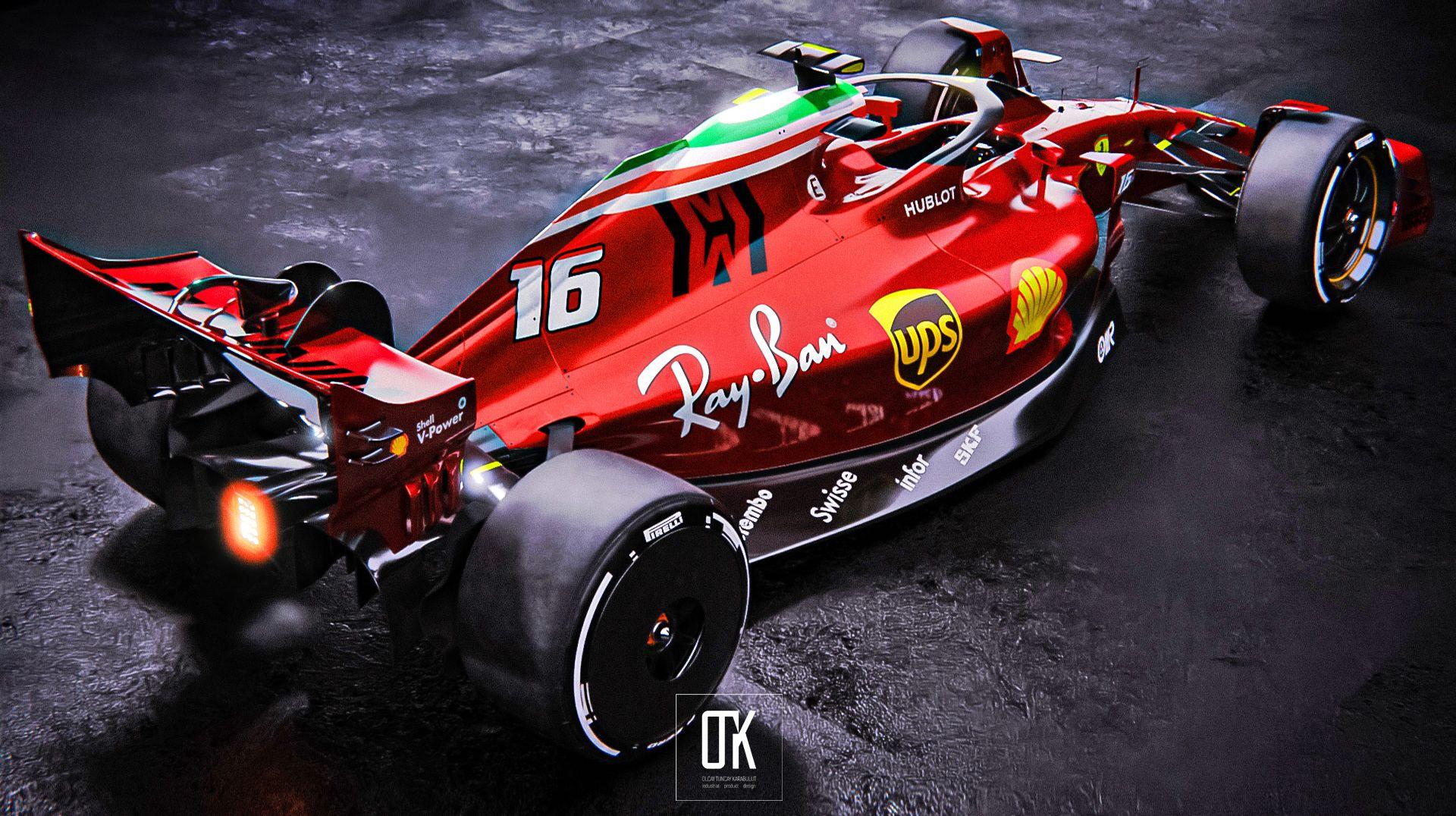 Scuderia Ferrari 2022 Concept On Behance Ferrari Ferrari Racing Ferrari F1