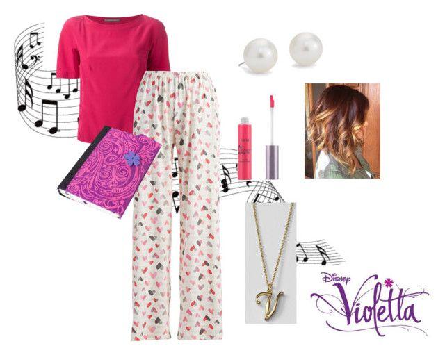 """Violetta - Pijama"" by violetta-leonetta ❤ liked on Polyvore featuring art"