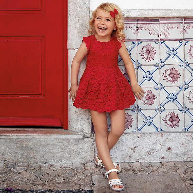 52ec10f6e4a Φόρεμα δαντέλα 3934 ΜAYORAL | ΝΕΕΣ ΠΑΡΑΛΑΒΕΣ | Δαντέλα, Φορέματα και ...