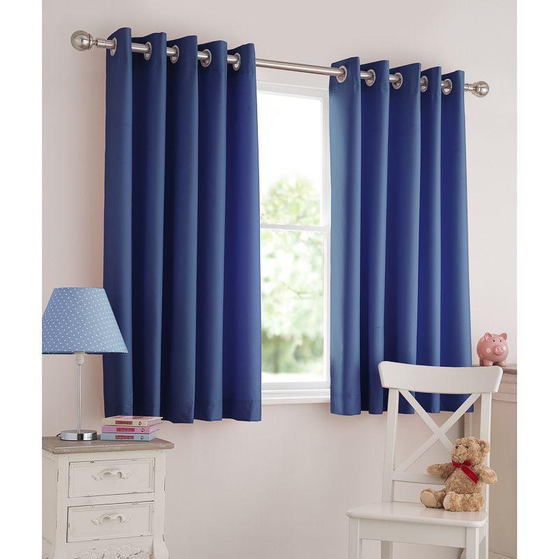Kids Light Reducing Eyelet Curtain