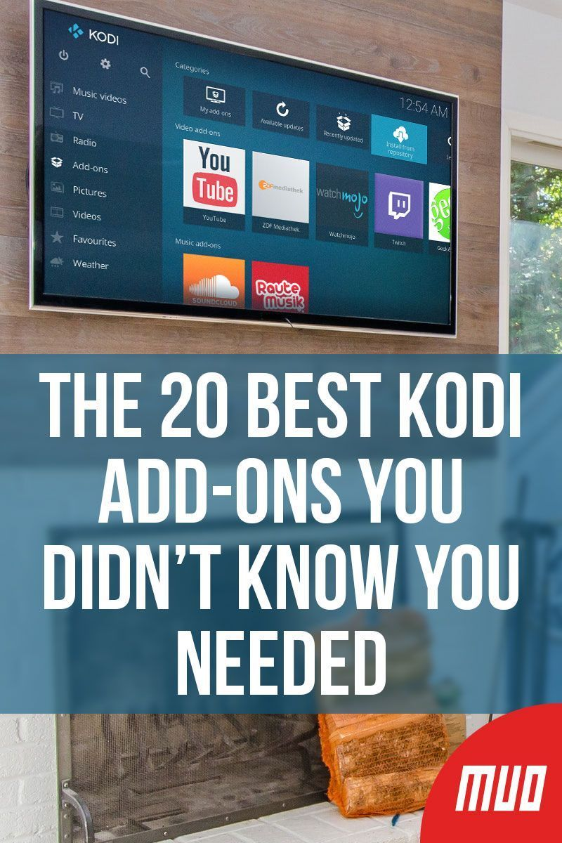 The 20 Best Kodi AddOns You Didn't Know You Needed (With