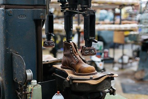 Plant industry leather shoes