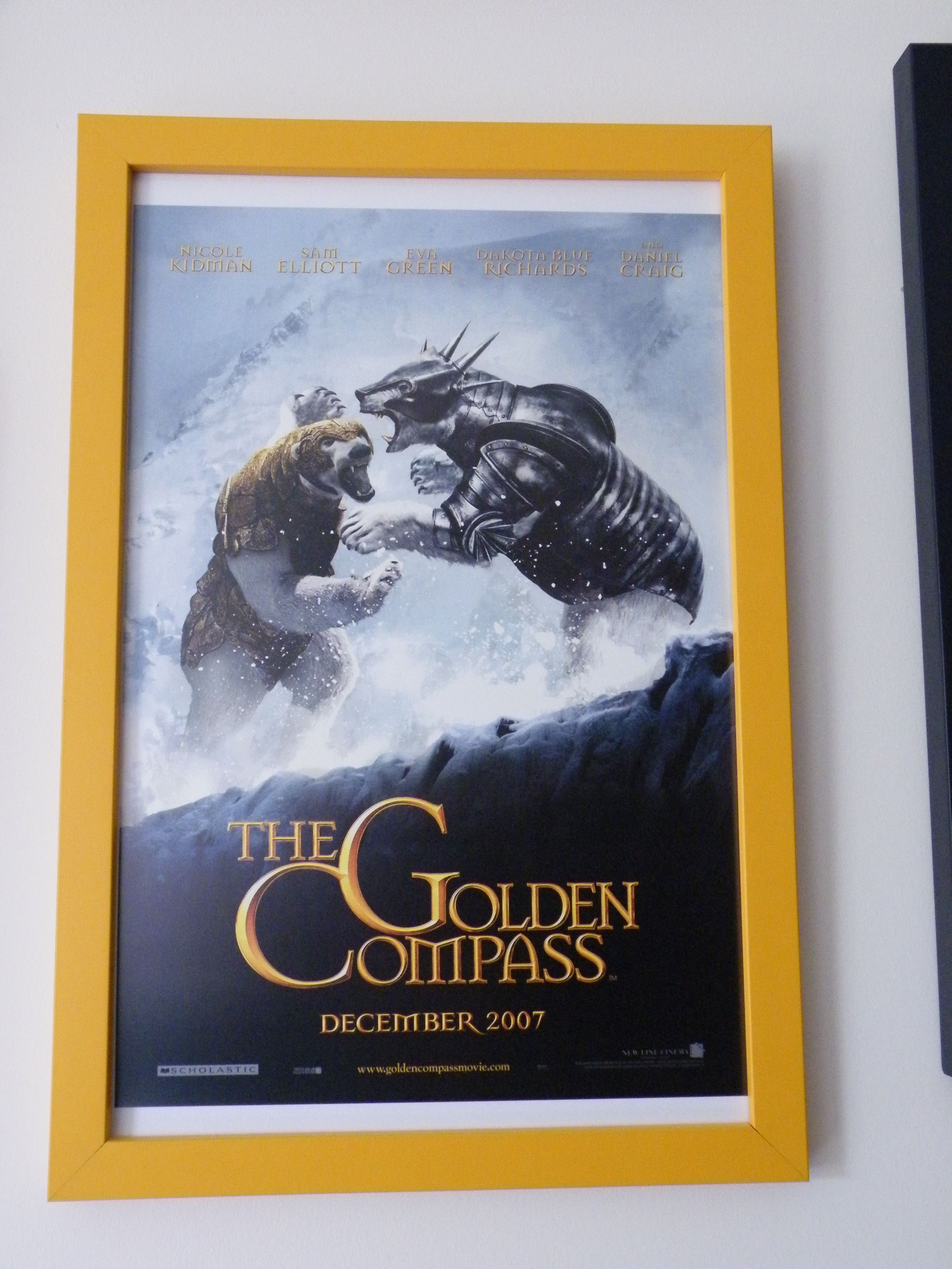 the golden compass movie poster the golden compassthe