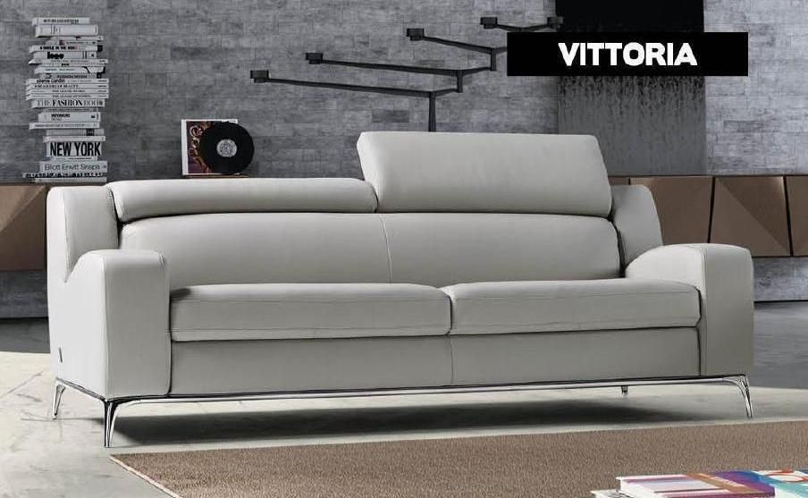 Modern Italian Made Leather Sofas