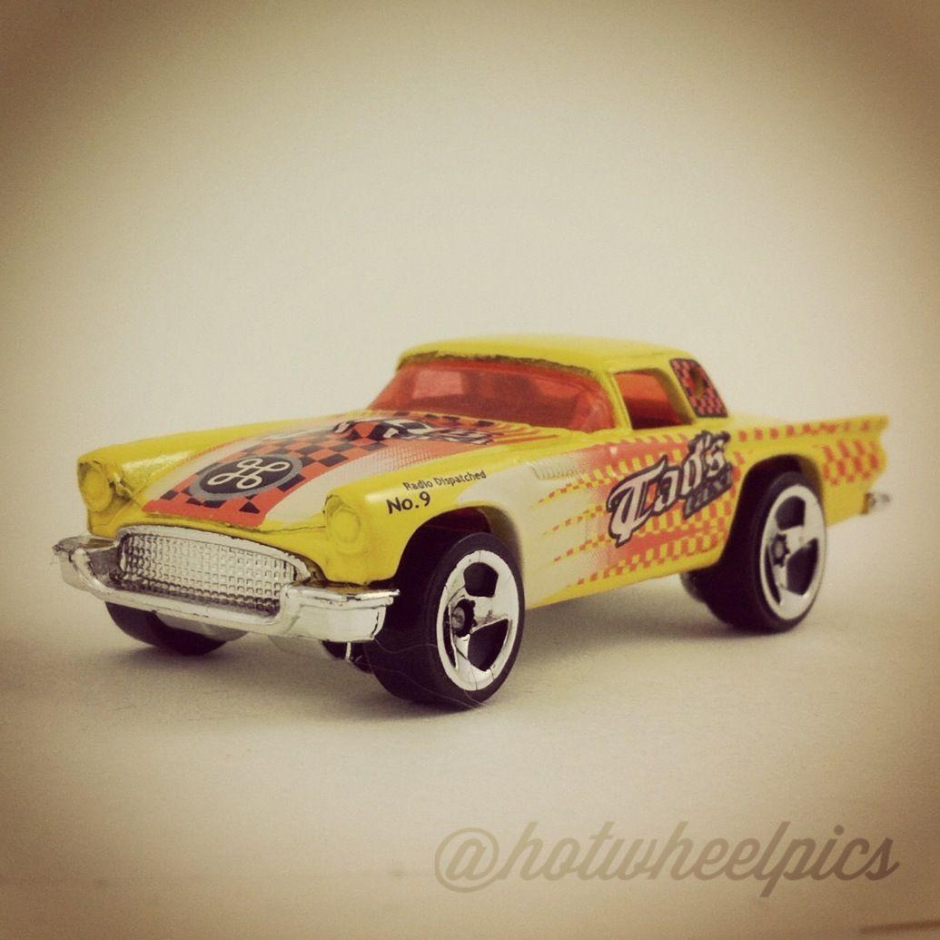 "'57 TBird - 2001 Hot Wheels ""Turbo Taxi Series""  #hotwheels | #toys | #diecast | #Ford"