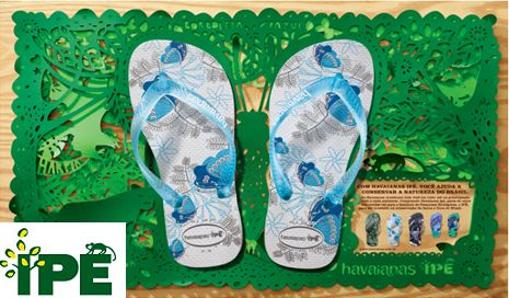 Havaianas is synonymous with sustainability. Learn more ...