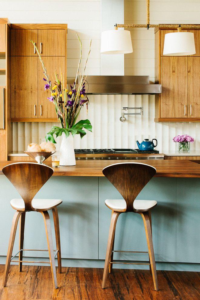 Amazing Mid Century Modern Kitchen Part - 6: Amazing Mid Century Modern Kitchen Nice Design