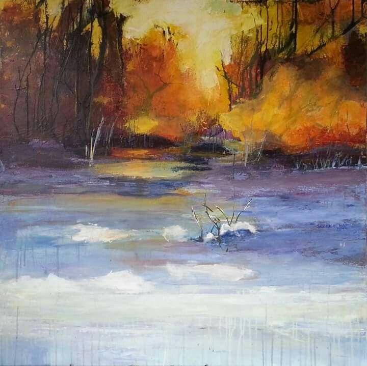 landschaft acryl auf leinwand 100x100 cm malerei kunst 40x60 fotoleinwand günstig bestellen