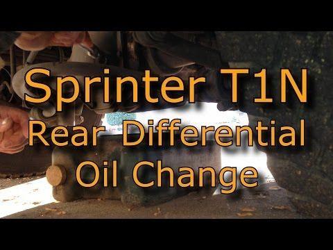 Sprinter 3500 T1-N Rear End Differential Oil Change | Sprinter Van