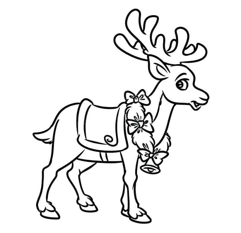 Reindeer Faces Coloring Pages In 2020 Animal Coloring Pages Kids Christmas Coloring Pages Rudolph Coloring Pages