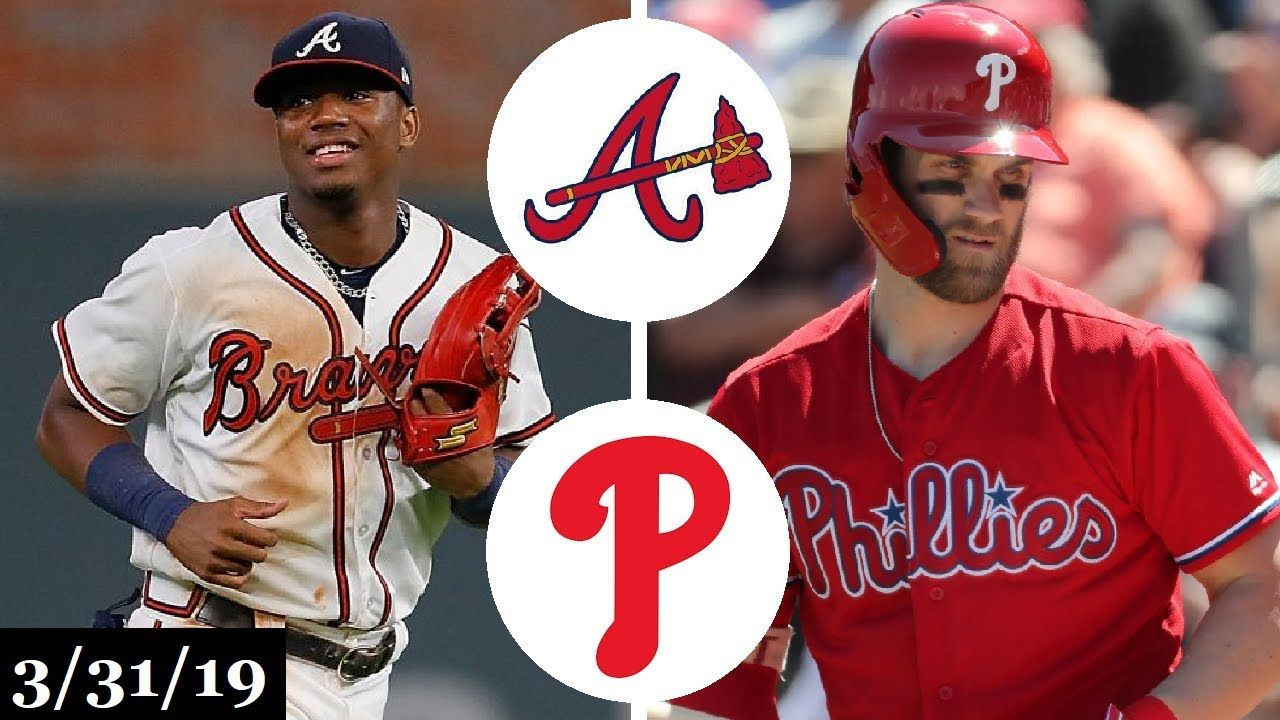 Atlanta Braves Vs Philadelphia Phillies Highlights Atlanta Braves Sports Highlights Baseball Highlights