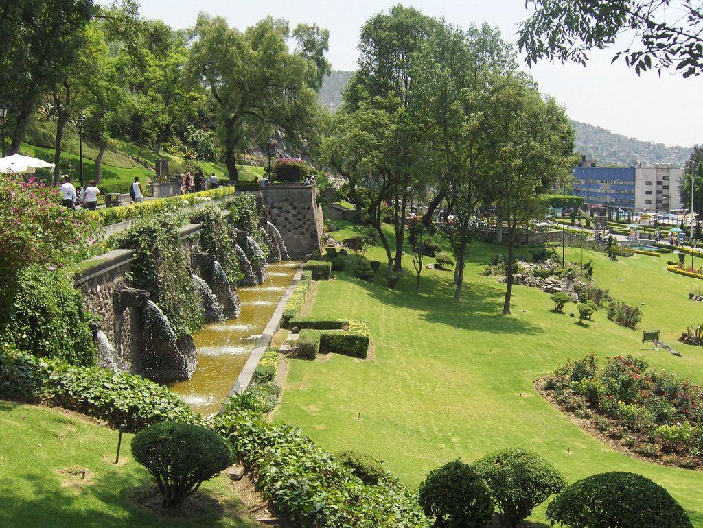 El parque hundido es otro de los lugares románticos de la CDMX.