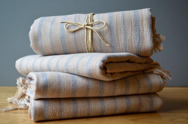 Mardin Linen Towel Authentic Turkish Towel Eco Friendly Hammam