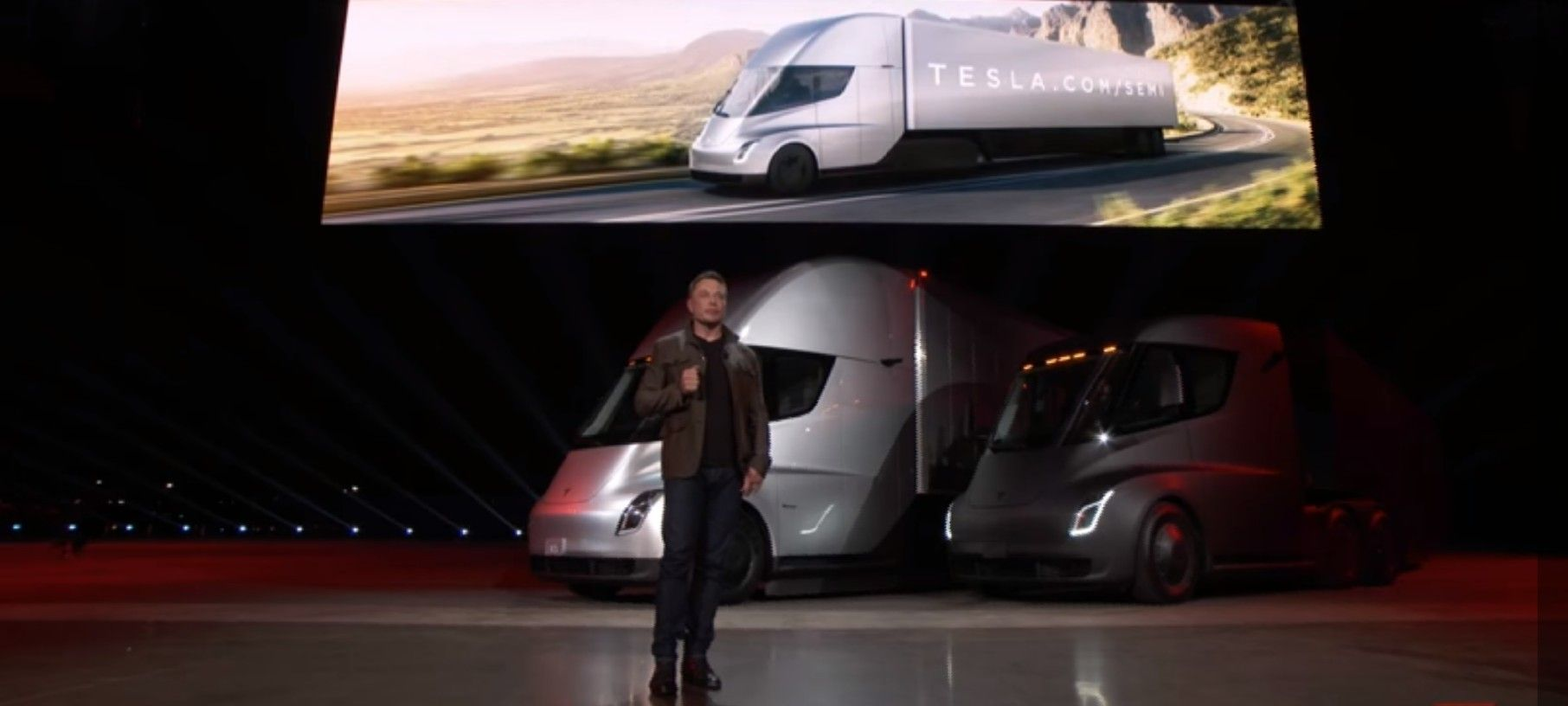 Pin By D Macke On Tesla And Evs Tesla Semi Trucks Electric Semi Truck